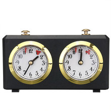 Chess-Clock Timer Count-Up Analog Retro Down-I-Go-Accessories Mechanical Competition-Game