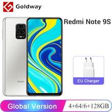 Versão global xiaomi redmi note 9 s 4 gb 64 gb / 6 gb 128 gb smartphone snapdragon 720g octa núcleo 48mp ai quad câmeras 6.67