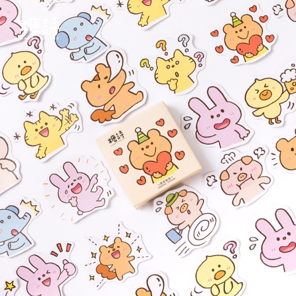 45 шт./кор. японский вид этикетка наклейки декоративные канцелярские наклейки Скрапбукинг Diy дневник альбом ярлыком - Цвет: U