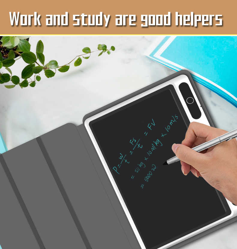 10.1 Inch Digital Tablet Kids Doodle Board Home Store Business Office Message Notepad LCD Electronic Handwriting Pad Gifts Black