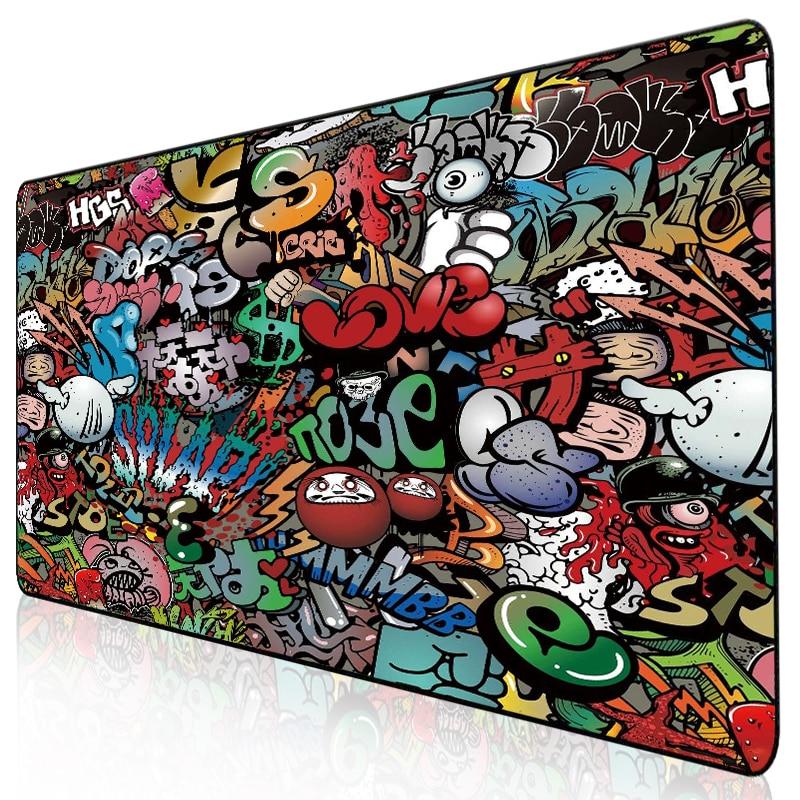 Gaming Mouse Pad Gamer Mousepad XXL Mouse Mat Large Desk Mat Computer Keyboard Game Play Mat Mause Carpet Gaming Mouse Pad
