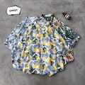 15 цветов рубашки 2020 летние мужские цветочные повседневные свободные с коротким рукавом повседневные рубашки