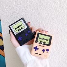 Klassieke retro game console Voor airpods case draadloze Bluetooth headset set Voor airpods 1/2 soft plastic opladen case