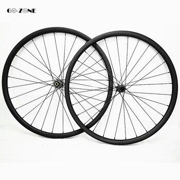 Go zone rodas mtb 29 asymmetrische 30x24mm tubeless xc/am mountainbike carbon wielen novatec d411SB D412SB 100X15 142X12 wielset-in Fiets wiel van sport & Entertainment op