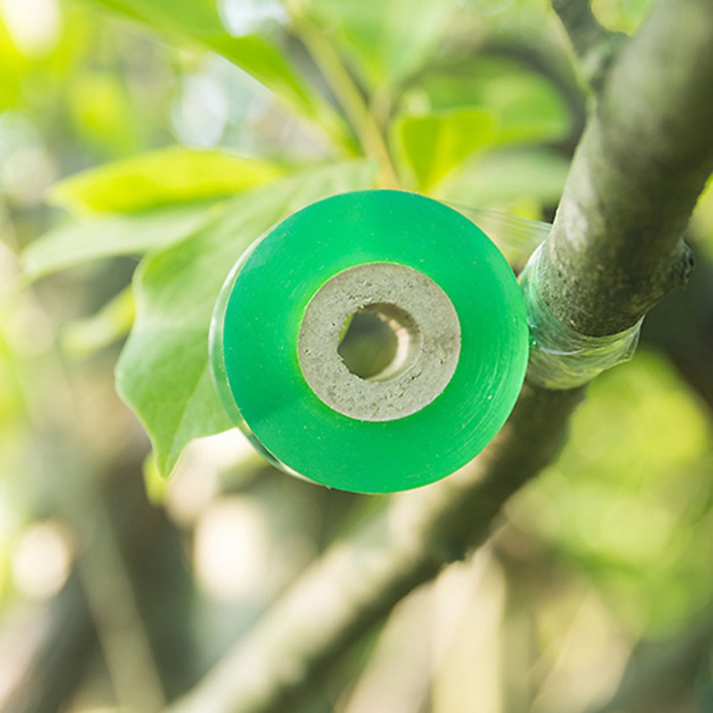 2CM X 100M 1 Roll Grafting Tape Garden Tools Fruit Tree Secateurs Engraft Branch Gardening Bind Belt PE Tie Tape