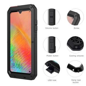 Image 5 - כבד החובה הגנה אבדון שריון מתכת אלומיניום מקרה טלפון עבור Huawei Mate 20 פרו P30 פרו מקרים עמיד הלם Dustproof כיסוי