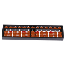 Традиционные 17 цифр Abacus Математика бизнес китайский Abacus развивающие игрушки соробан бисер Колонка Малыш Школа обучающие средства инструмент