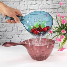 Пластиковый ковш для воды с противоскользящей ручкой, прозрачный Bailer для дома, кухни, бытовой Нескользящий Захват, ковш для воды, Bailer