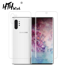 Full soft film Front and Back Screen Protector For Galaxy Note 10 HD Cover Film Samsung +5G