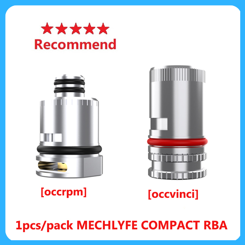 Mechlyfe COMPACT RBA Atomizer Coil Head 510 Thread Connection Design Cores For Rpm Pod/vinci Pod Vaping Tank