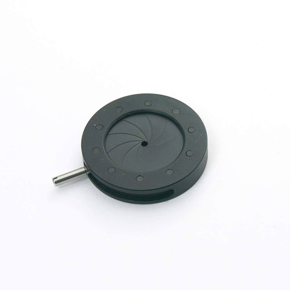 1PC 1-16MM Zoom Optical Iris Diaphragm Aperture Condenser With 10 Blades For Digital Camera Microscope Light Regulator Adapter