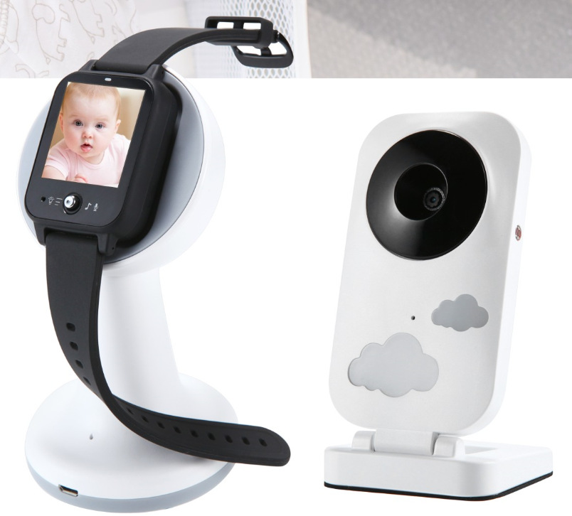 Night Vision Baby Sleeping Monitor Home Security Camera Two Way Talk Audio Wireless Video Camera WiFi Baby Care Monitor
