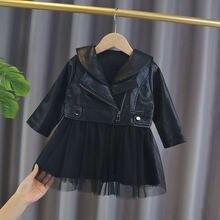 Платье для новорожденных девочек одежда детская куртка платья