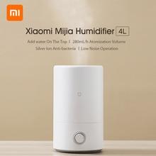 Xiaomi mijia umidificador 4l mjjsq02lx mudo purificador de ar aromaterapia umidificador difusor óleo essencial névoa maker 280 ml/h 220v