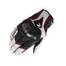 Couro respirável moto rcycle luvas de corrida moto cross luvas rst390 391 luvas guantes moto rekawice moto cyklowe