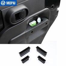 MOPAI Stowing Tidying araba kapı kolları saklama kutusu Jeep Wrangler JK için 2007 2008 2009 2010 iç aksesuarları