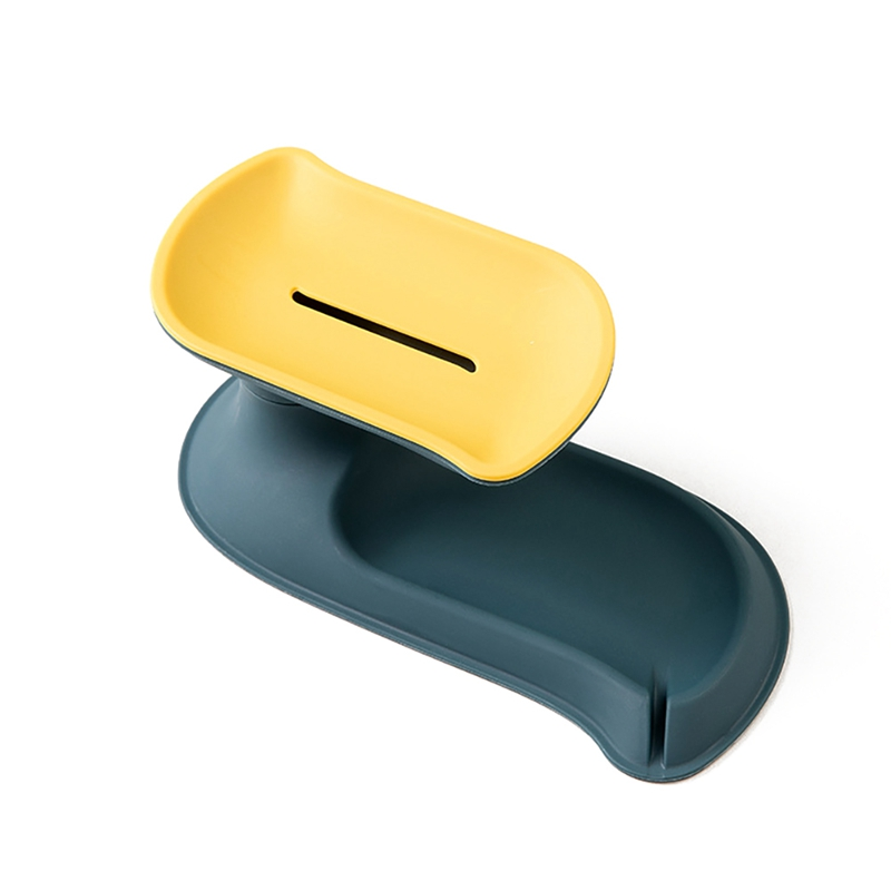 Двойная дренаж для мыла бытовой туалетный портативный поднос