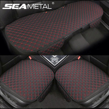 Car Accessories Car Seat Cover Flax Car Seat Protector Cushion Automobiles Seat Covers Set Universal Interior Auto Accessories