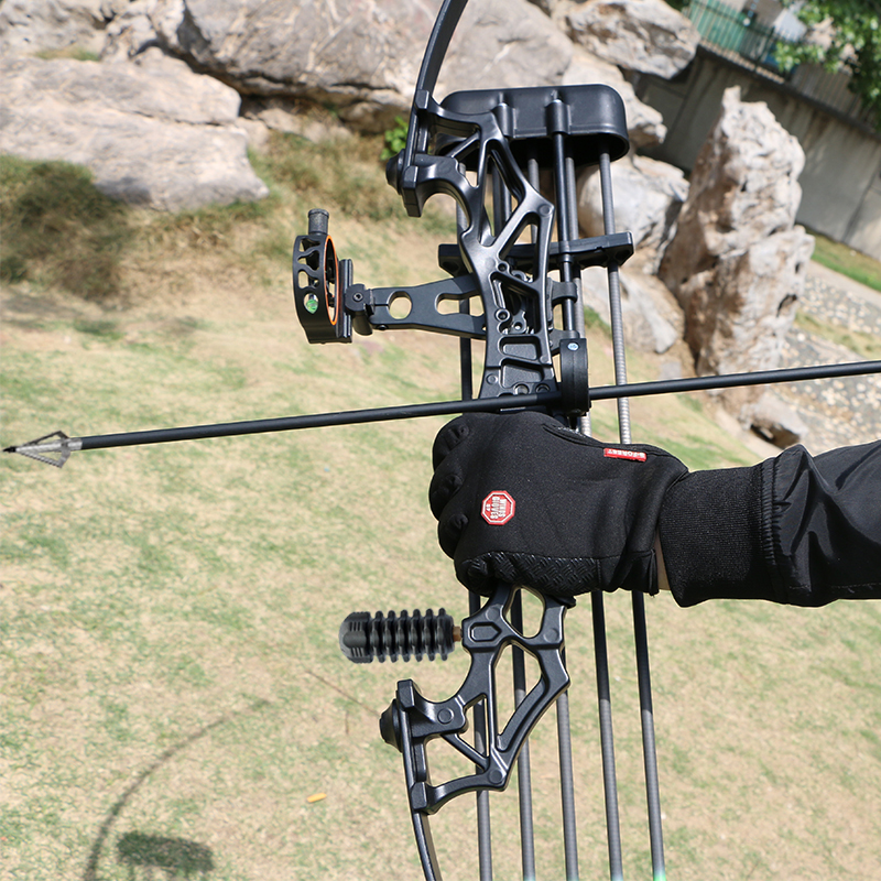 ציד קשת 30-50 Lbs עוצמה ישר וקשת חץ יחיד מחט Sight ציד Recurve מתחם קשת חץ וקשת ירי צעצועים