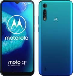 Motorola Moto G8 Power Lite 64 ГБ, две Sim-карты, цвет Арктический синий