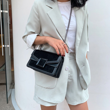 2019 New Fashion Trend Shoulder Bag Pu Leather Simple Style Small Bag Solid Color Design Casual Ladies Wild Messenger Bag punk style solid color and rivets design women s shoulder bag
