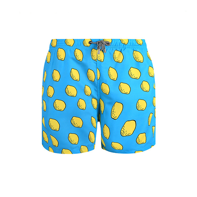 Jacksome Yellow Lemon Mens Funny Stretchy Underwear