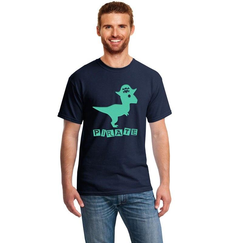 Mantshirt Jurassic Park Dinosauro Mens Casual Short Sleeve Graphic Tee Shirts