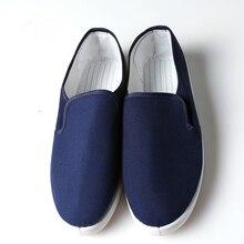 Buty antystatyczne obuwie ochronne obuwie robocze niebieskie płótno praca robocza czyste oczyszczanie bezpyłowe