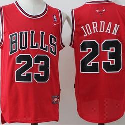 NBA Chicago Bulls #23 Michael Jordan Men's Basketball Jersey Vintage Limited Edition Swingman Jersey Stitched Mesh Men's Jerseys