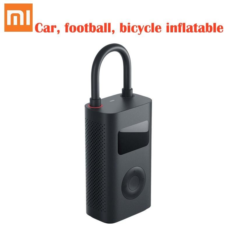Pompe de gonflage électrique de détection de pression de pneu numérique intelligente portative originale de Xiaomi mijia pour le vélo, moto, voiture, Football