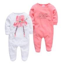 Одежда для маленьких девочек; комбинезон мальчиков; 2 шт/лот;