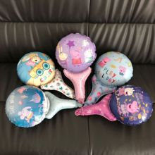 1pc Peppa Pig Foil Balloons pig party supplies Birthday Room Party Decorations Kids Toys