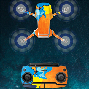 Image 3 - Waterproof Stickers PVC Protective Film Decal for Mavic Mini Colorful Full Cover Sticker for DJI Mavic Mini Drone Accessories