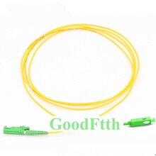 광섬유 패치 코드 E2000 SC apc sc/APC E2000/apc sm 심플 렉스 goodftth 100 500m