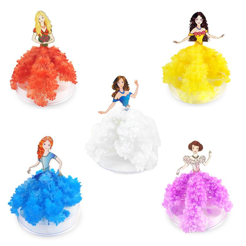 Kuulee Blossom Paper Tree Princess Dress Creative Tricky Science Lab Make Children Toy Birthday Gift With Random Color