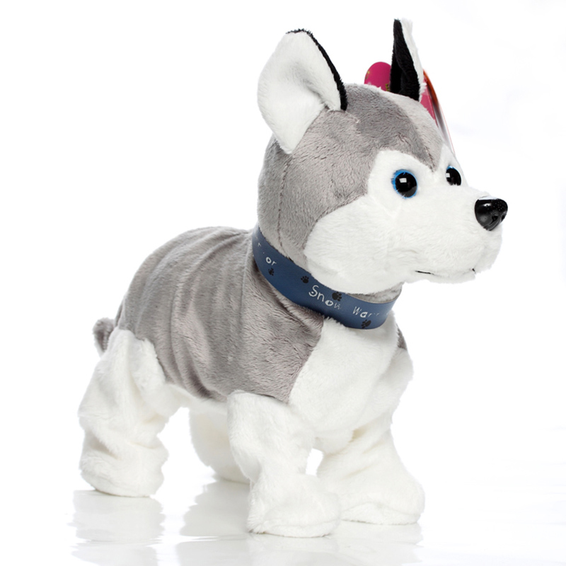 Electric Toy Dog Intelligent Voice Control  Will Call The Dancing Dog Plush Puppy Mechanical Dog Doll Barking  Toy  90s