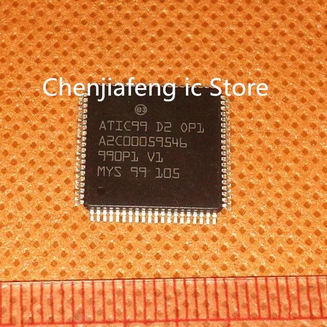 2pcs~10pcs/lot  New original    ATIC99 D2 0P1   QFP  ATIC99 D2 OP1