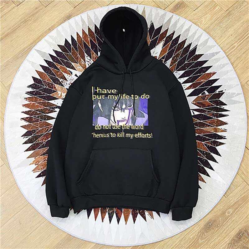 NiceMix 2019 Kühlen Japan Anime Naruto Sasuke Print Hoody Für Männer Frauen Herbst Winter Sweatshirt Mode Lässig Trainingsanzüge Hoodies
