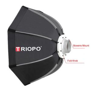 Image 2 - TRIOPO TR 120 centimetri Bowens Mount Portatile Ottagono Ombrello Esterno Video Softbox w Borsa Per Il Trasporto per la Fotografia da Studio Soft Box