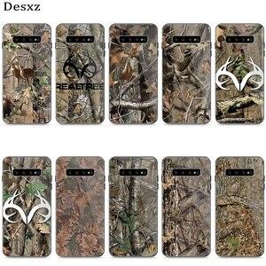 Стеклянный чехол для телефона Samsung A51 A71 A30 A40 A50 A60 A70 S7 Edge S 8 9 10 20 Plus чехол Realtree Real Tree Camo