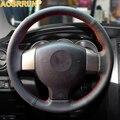 Leder Auto lenkrad Abdeckungen Für Alte Nissan Tiida Livina Sylphy Hinweis Versa 2004 2010 2011 2008 2006 Auto Zubehör