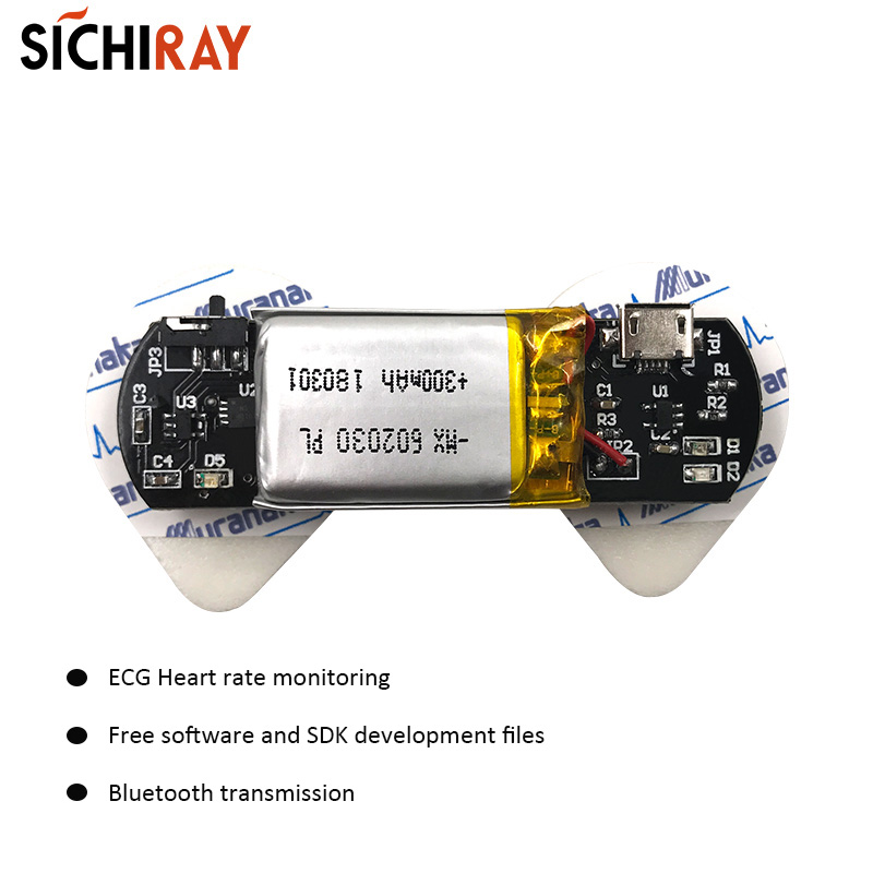BMD101 <font><b>ECG</b></font> Sensors Heart Rate Sensor For <font><b>Arduino</b></font> Second Development HRV Biofeedback Smart Bluetooth Wearable Devices image