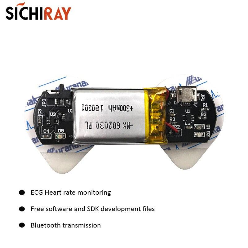 Sensores ECG BMD101 Sensor De Ritmo Cardíaco Para Arduino Segundo Desarrollo HRV Biofeedback Dispositivos Portátiles Inteligentes Bluetooth