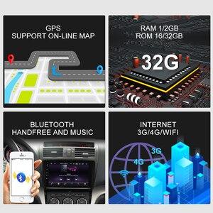 Image 4 - ISUDAR Auto Radio Per Mazda 6 2008 2009 2010 2011 2014 2 din Android 9 Autoradio Multimedia GPS DVR macchina fotografica di RAM 2GB di ROM 32GB USB