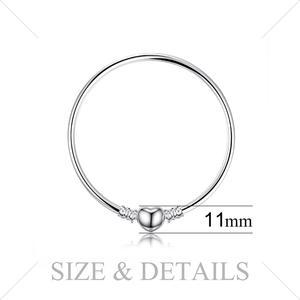 Image 3 - Jewelrypalace orijinal 925 ayar gümüş zincir bileklik bileklik kadınlar için aşk kalp Fit boncuk Charms gümüş 925 orijinal DIY
