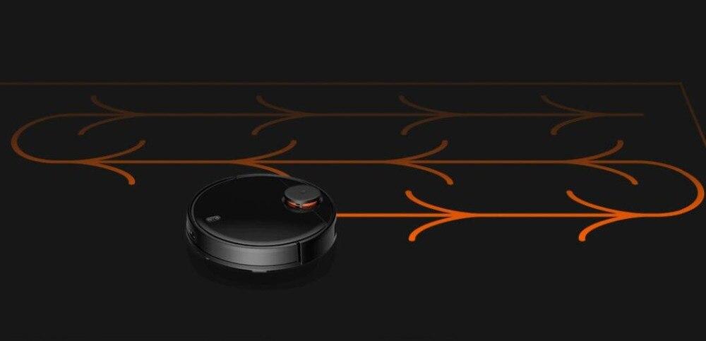 Hd438815175984a70978ef28df1614cdfI Xiaomi Robot Vacuum Cleaner STYTJ02YM Sweeping Mopping Floor Smart Planned LDS+WiFi Mijia App 2100Pa S50