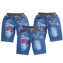 Summer baby Boys denim shorts Fashion Spider man children jeans Kids casual cowboy shorts child 3 4 5 6 Teenager 7 8 9 10 years(China)
