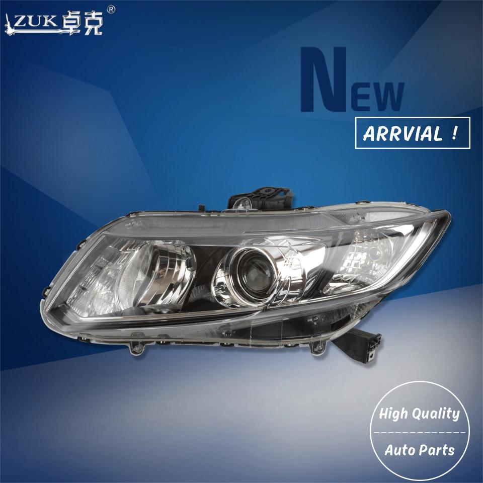 Halogen Headlight For 2010-2011 Honda Civic Coupe Left