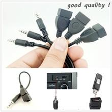Новый автомобильный AUX-Разъем конвертер адаптер кабель для golf 4 passat b5 tiguan 2019 audi a1 skoda audi a6 c7 ford focu
