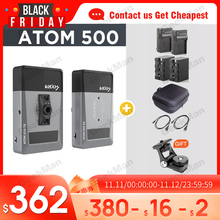 Vaxis ATOM 500 HDMI 1080P şanzıman kamera Ipad görüntü kablosuz Video HD verici alıcı VS Hollyland mars 400S sdi
